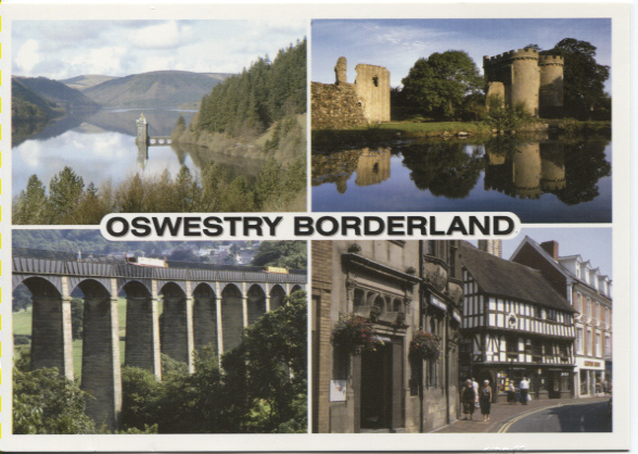 PC-S&B-56-23 - Views of Oswestry - Borderland  2006