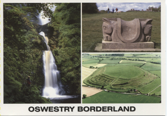 PC-S&B-56-24 - Views of Oswestry - Borderland  2006
