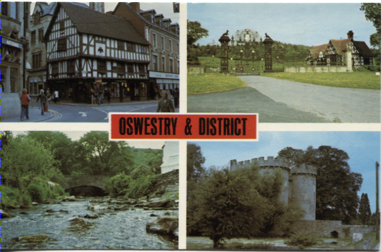 PC-S&B-56-25 - Views of Oswestry & District