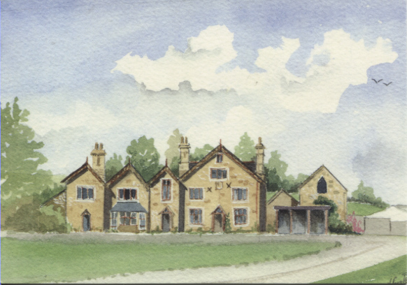 PC-W-39-12 - Tyn-y-Rhos a watercolour - 2003