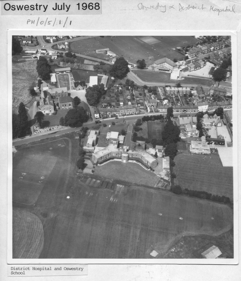 PH-O-5-1-1 - Oswestry School and District Hospital - 1968