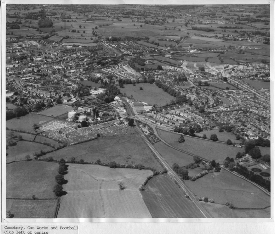 PH-O-5-1-28 - Cemetery, Gas Works & Football Club - 1966