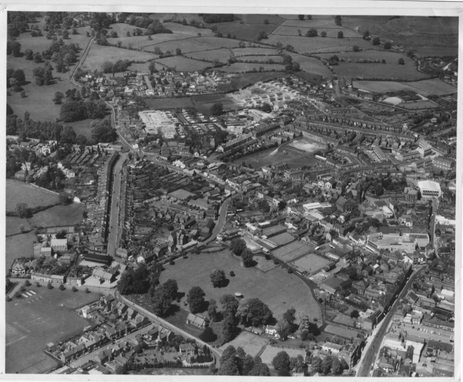 PH-O-5-1-48 - Cae Glas centre foreground - 1966