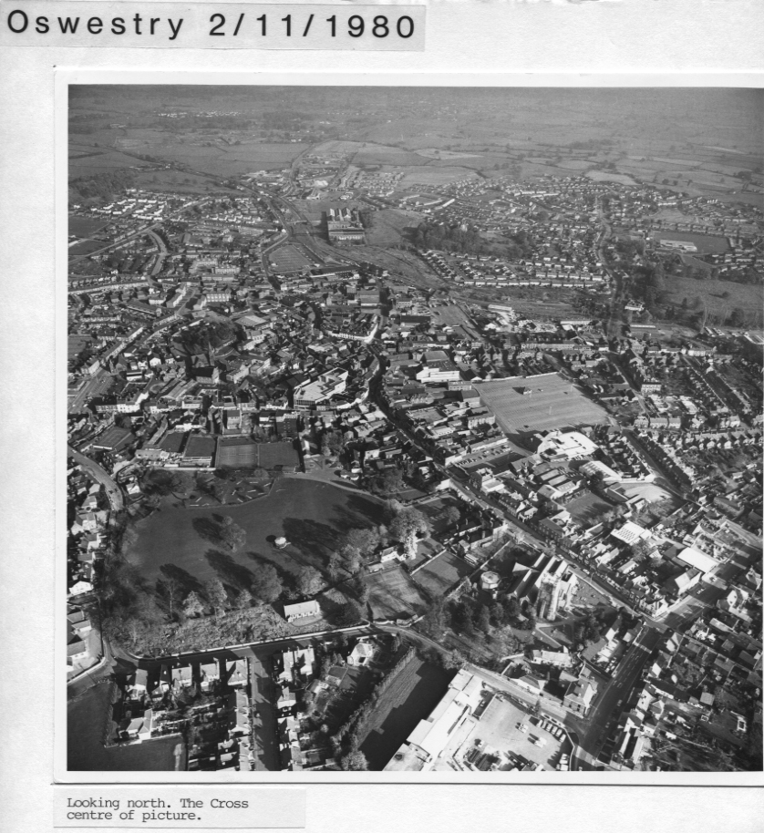 PH-O-5-1-65 - Oswestry looking north - 1980