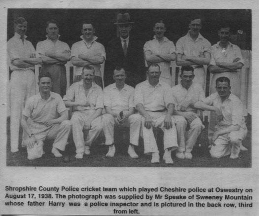 PH-O-5-15-105 - County Police Team - Harry Speake - 1938