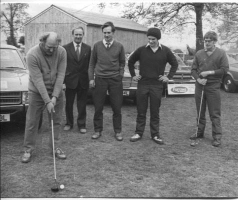 PH-O-5-15-48 - Annual Ford golf match - 1973