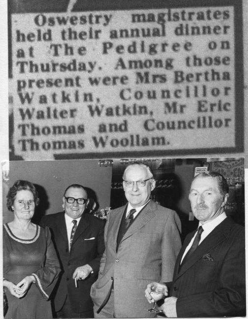 PH-O-5-15-58 - Magistrates Annual Dinner - 1973