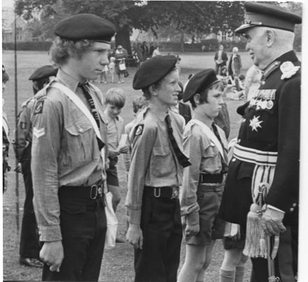 PH-O-5-15-73 - Inspection of St John Ambulance personnel - 1973