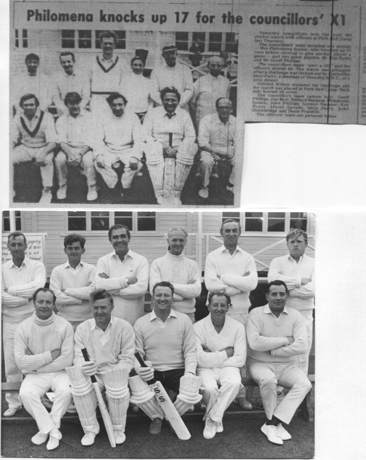 PH-O-5-15-80 - Council Officers Cricket team - 1973