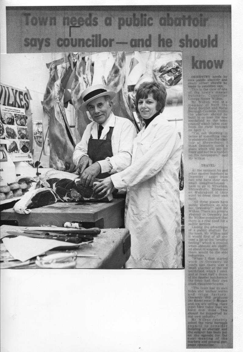 PH-O-5-15-82 - Mr Wilkes, Mrs Judith Barlow - Abattoir needed - 1974