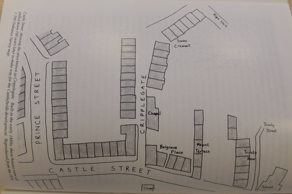 PH-O-5-80-2 - Map of Rope Walk off Cripplegate & Castle Street