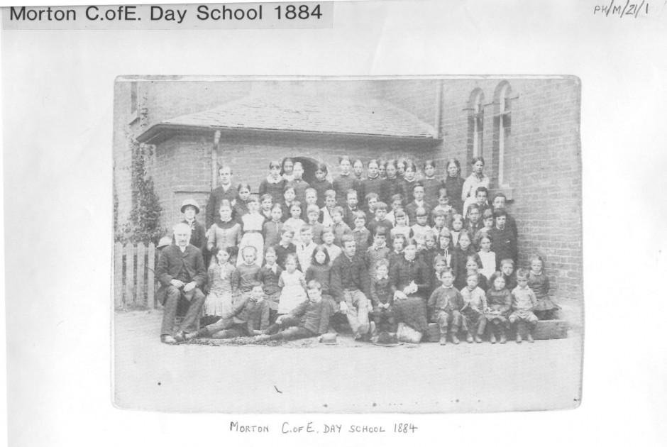 PH-M-21-1 Morton CofE Day School 1884