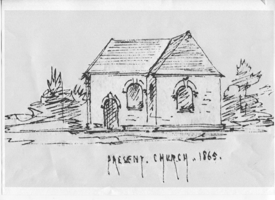 PH-M-21-4 - Sketch of Morton Church - 1865
