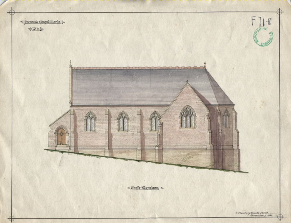 PH-O-5-10-82 - Plans for Chapel in Morda