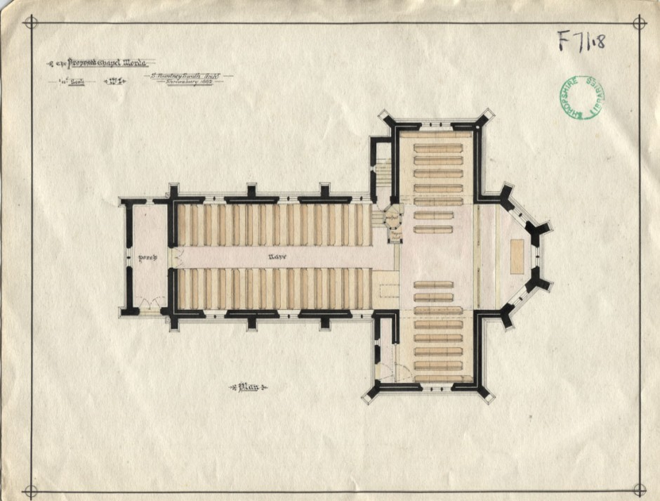 PH-O-5-10-83 - Plans for Chapel in Morda