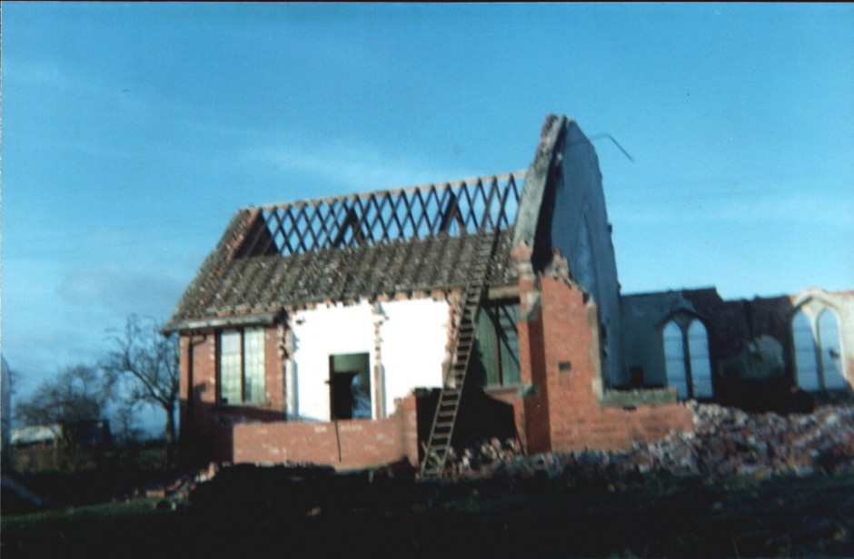 NM-G-8-5-  Church Demolition - 1975