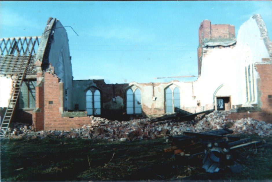 NM-G-8-6-  Church Demolition - 1975