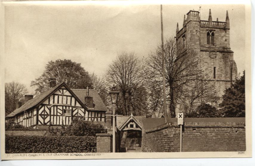 OSW-PC-O-5-6-135 - Church & Old Grammar School