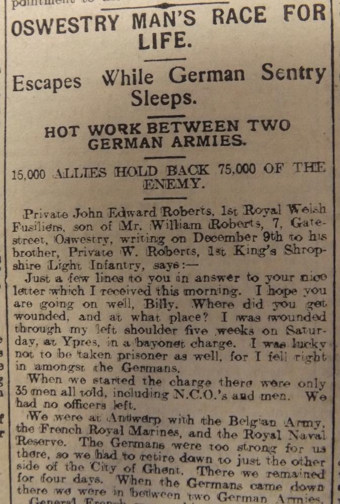 NP-WW1- Roberts John Edward - 1