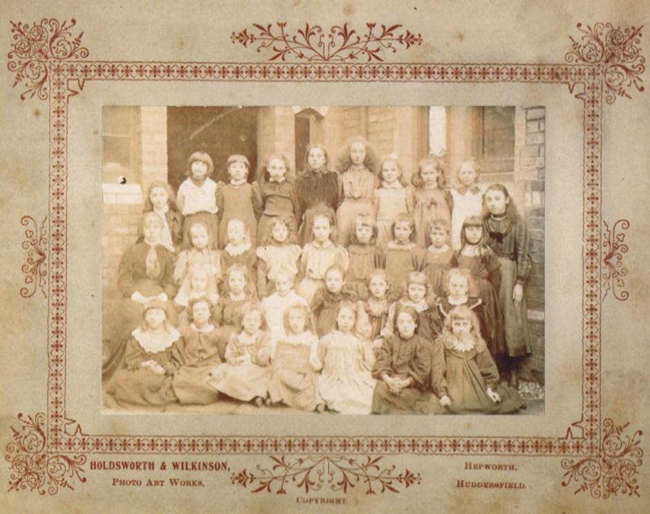 PH-O-5-21-8 - Oswestry Board School c1900