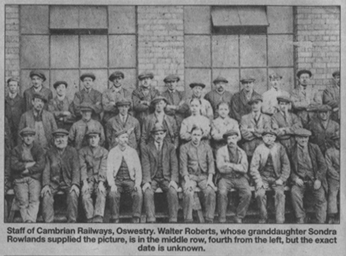 NP-O-5-16-58 - Cambrian Railway Staff