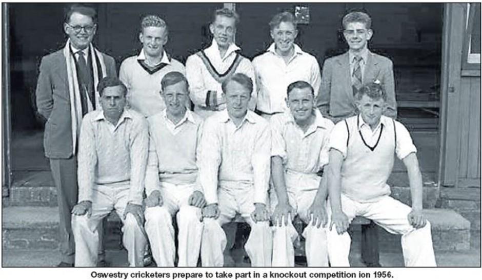 NP-Sport- 5 - Oswestry Cricket Club c1956