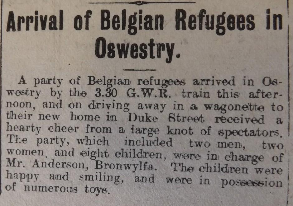 NP-WW1- Belgian Refugees - 1