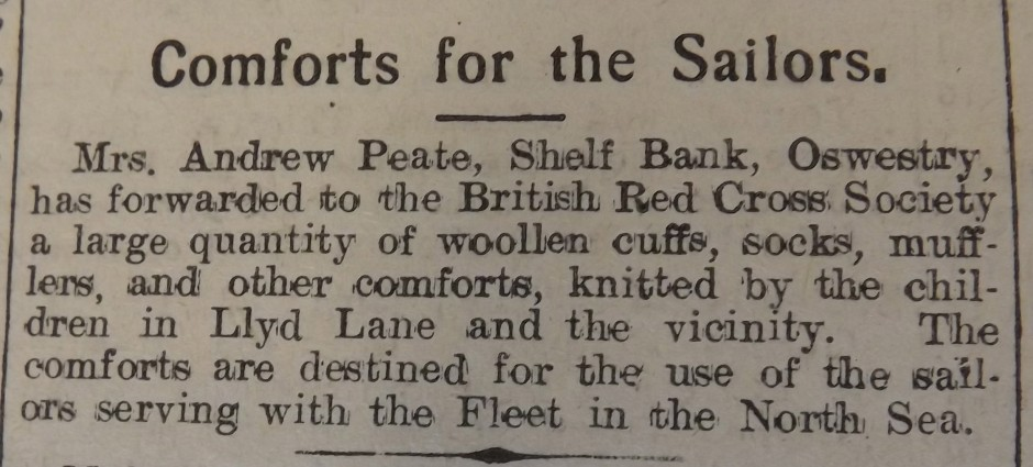 NP-WW1- Comfort for Sailors Oct 1914