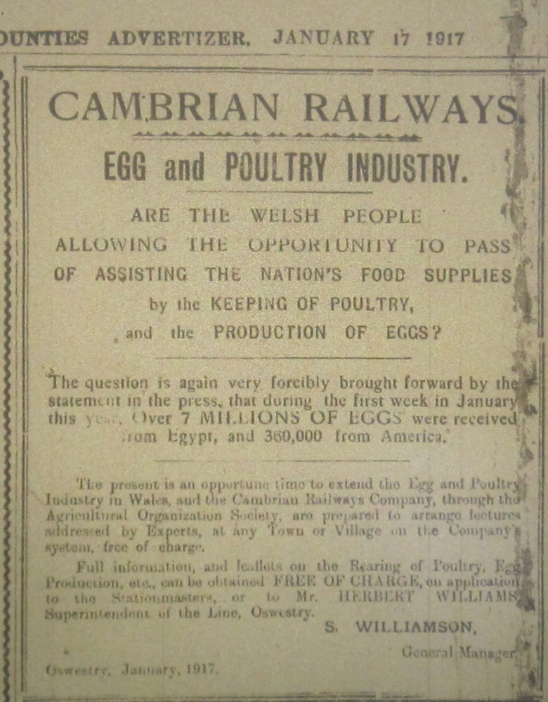 NP-WW1-Eggs & Poultry - Jan 1917