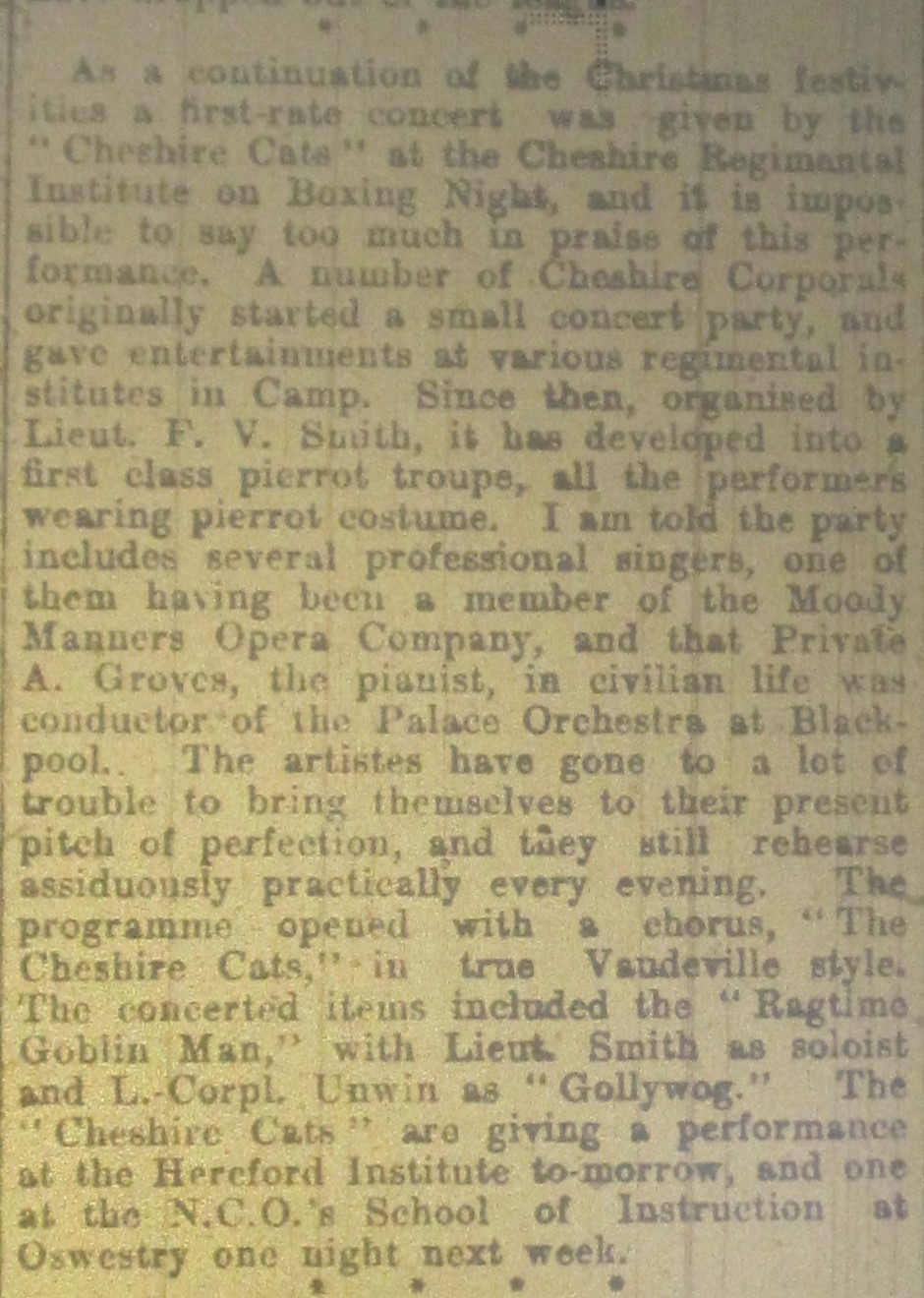 NP-WW1- Park Hall Notes Jan 03 1917- 2