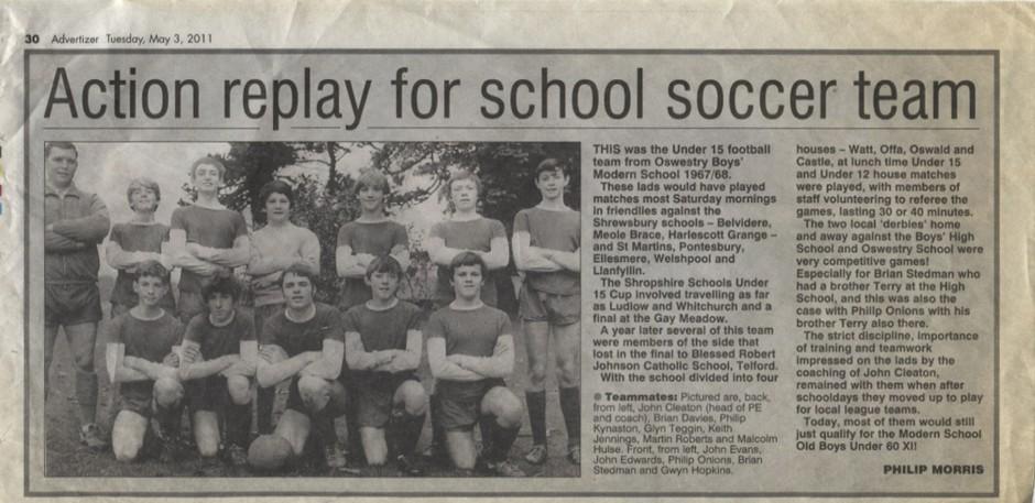 PH-O-5-78-4 - Oswestry Boys Modern School - 1967