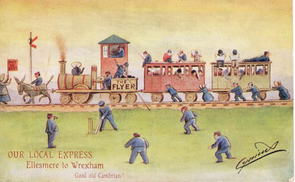 NM-E-8-20-27 - Ellesmere to Wrexham Express