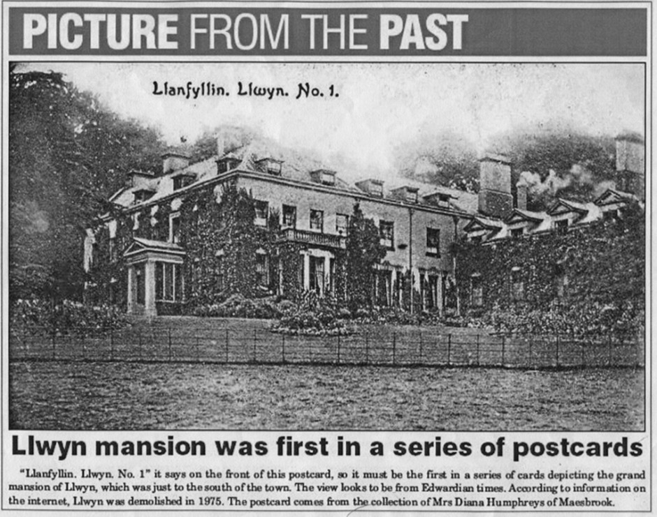 NM-L-39-16 - Llwyn Mansion in Llanfyllin