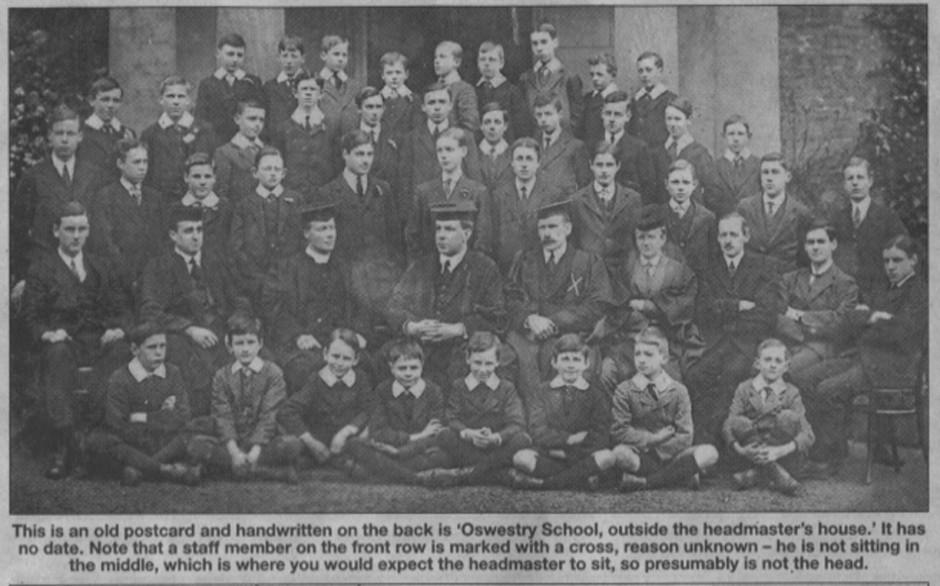 NP-O-85-9 - Oswestry School