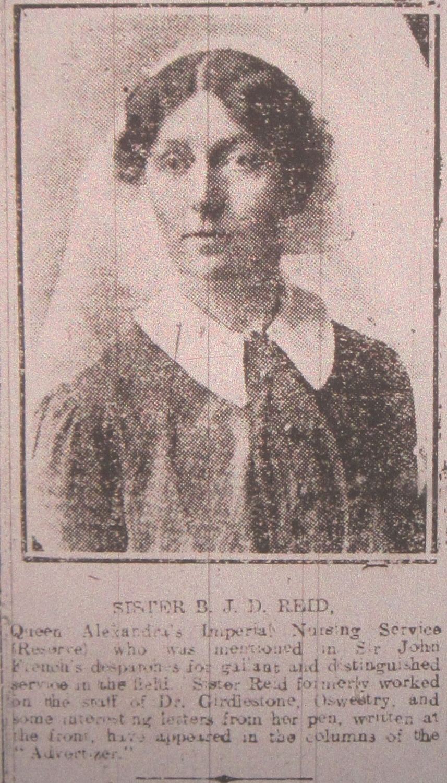NP-WW1-107 Reid Sister