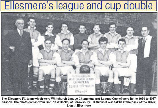 NP-E-8-20-32 - Ellesmere Football Club c1956