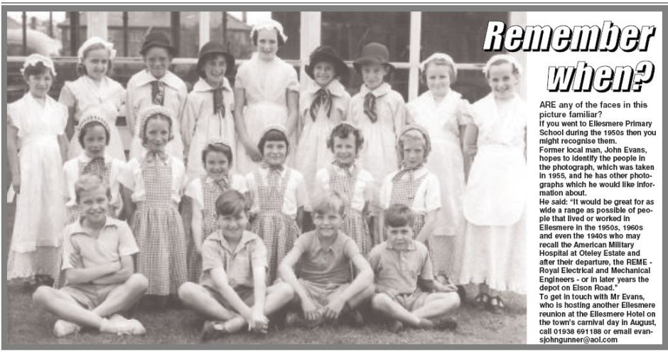 NP-E-8-20-33 - Ellesmere Primary School 1955