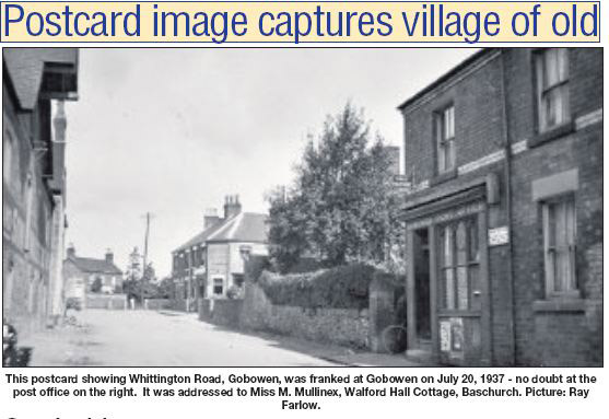 NP-G-1-111 - Whittington Road in 1937
