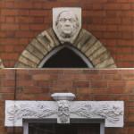 PH-O-5-30-6 - Mouldings above house doors 19-25 Gittin St
