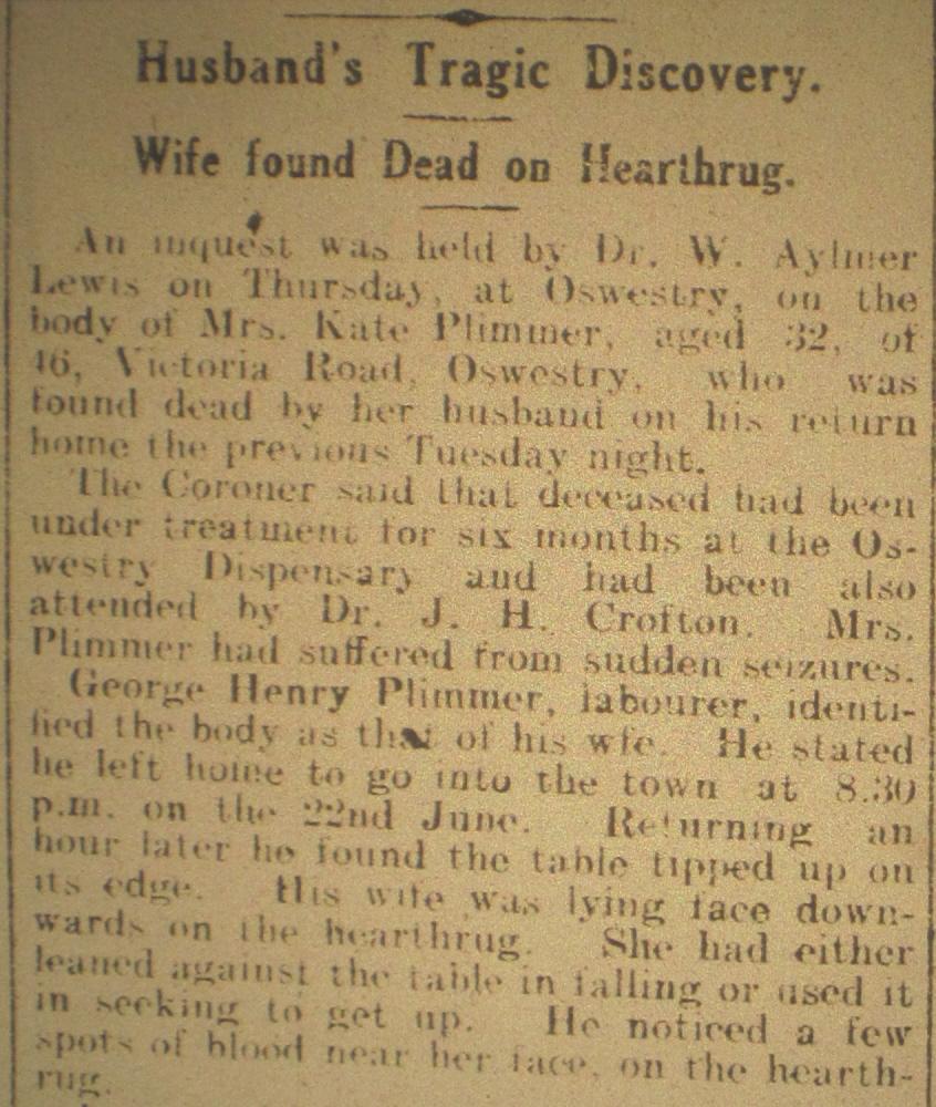 NM-O-5-15-181a - Kate Plimmer Death