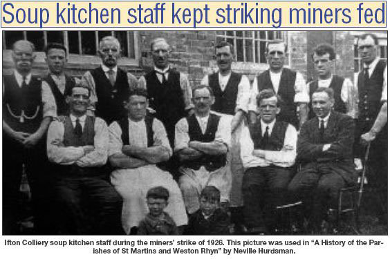 NP-I-3-13 - Colliery Soup Kitchen 1926