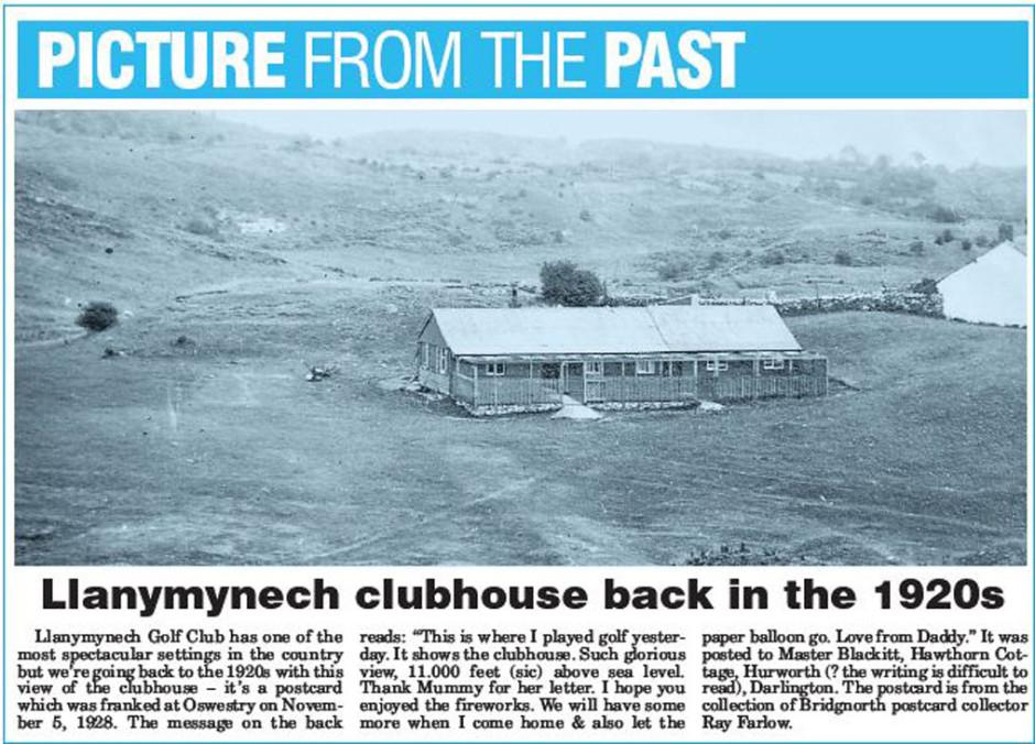 NP-L-19-55 - Llanymynech Golf Club House c1920