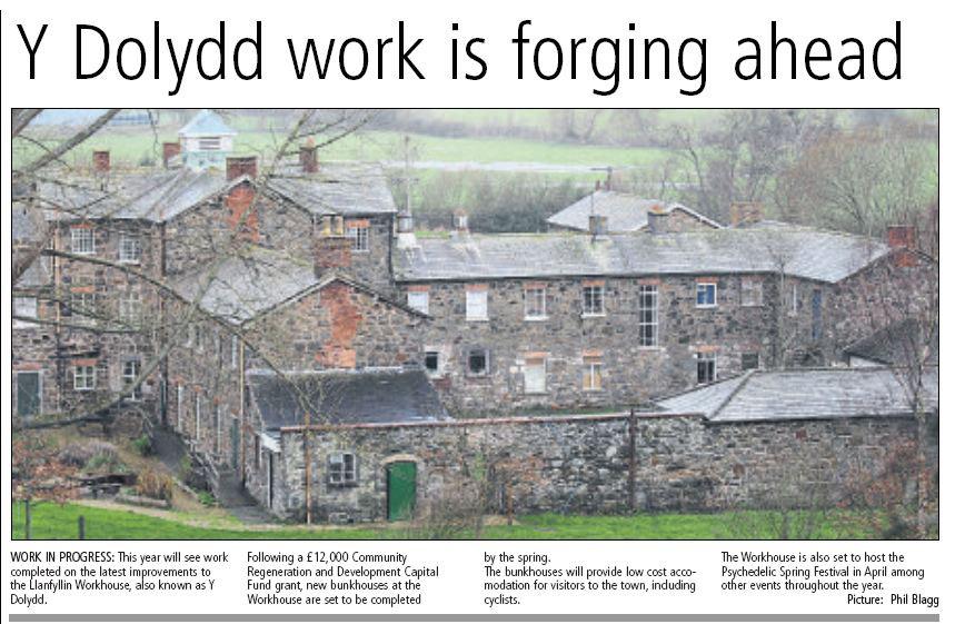 NP-L-39-18 - Llanfyllin or Y Dolydd Workhouse - 2014