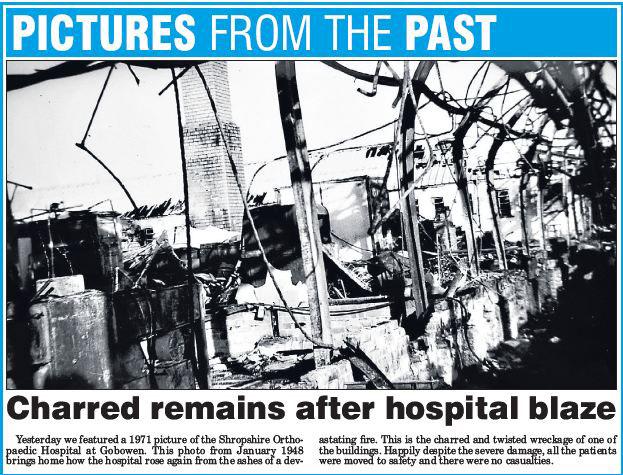 NP-O-5-13-28 - Fire at Hospital 27 January 1948