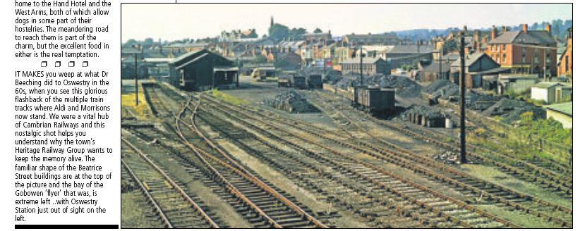NP-O-5-16-66 - Oswestry Railway pre 1966