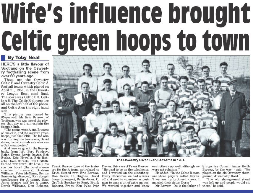 NP-Sport- 11 - Oswestry Team 1951
