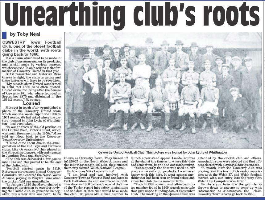 NP-Sport- 13 - Town Football Club History