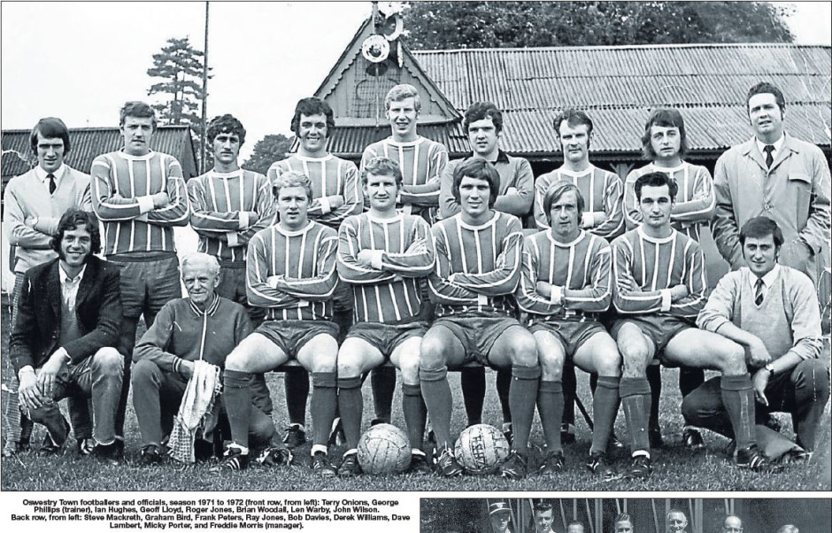 NP-Sport- 15 - Oswestry Town 1971-1972