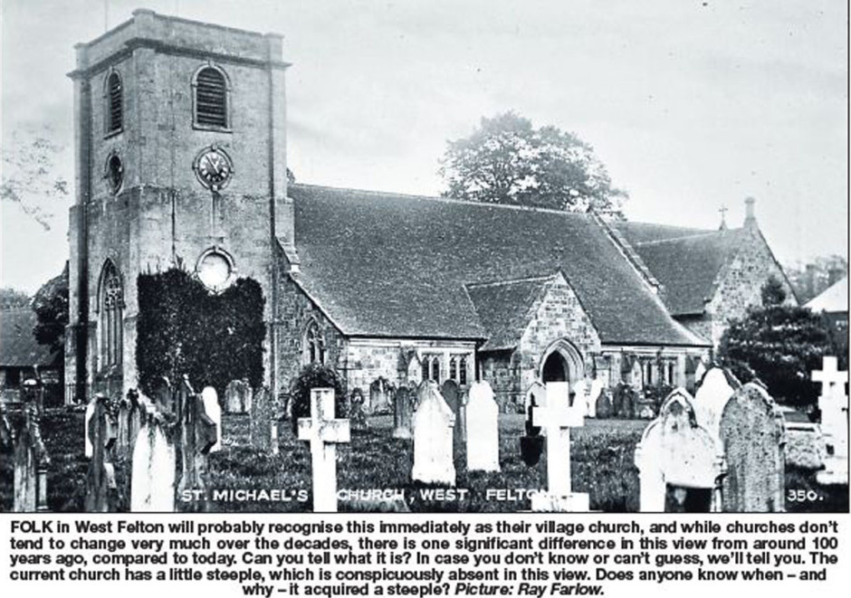 NP-W-12-6 - West Felton Church c 1900