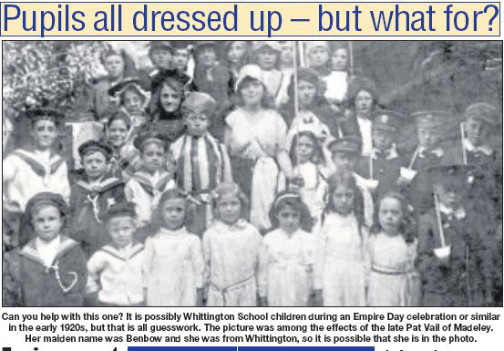 NP-W-20-26 - Whittington School Children c1920